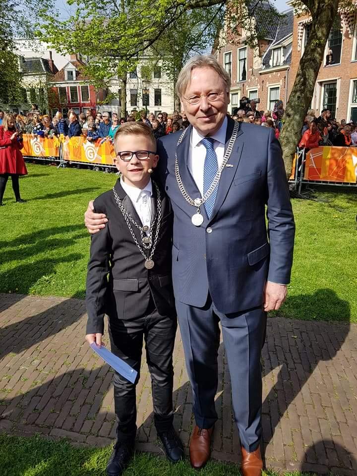 Hoe was Javano zijn jaar als 1e kinderburgemeester van Groningen?