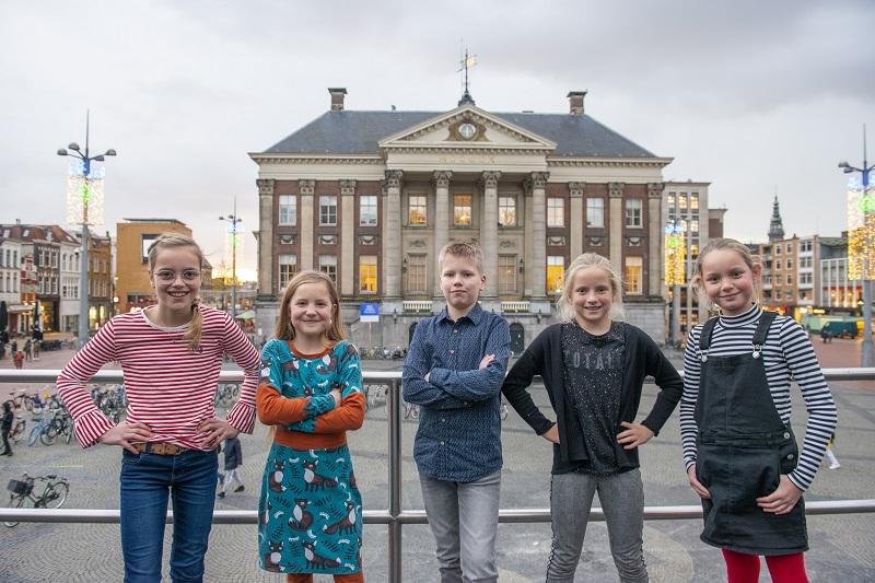 Stemmen voor een nieuwe Kinderburgemeester