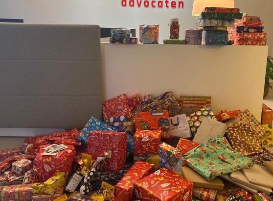 1000 cadeau's van Sinterklaas